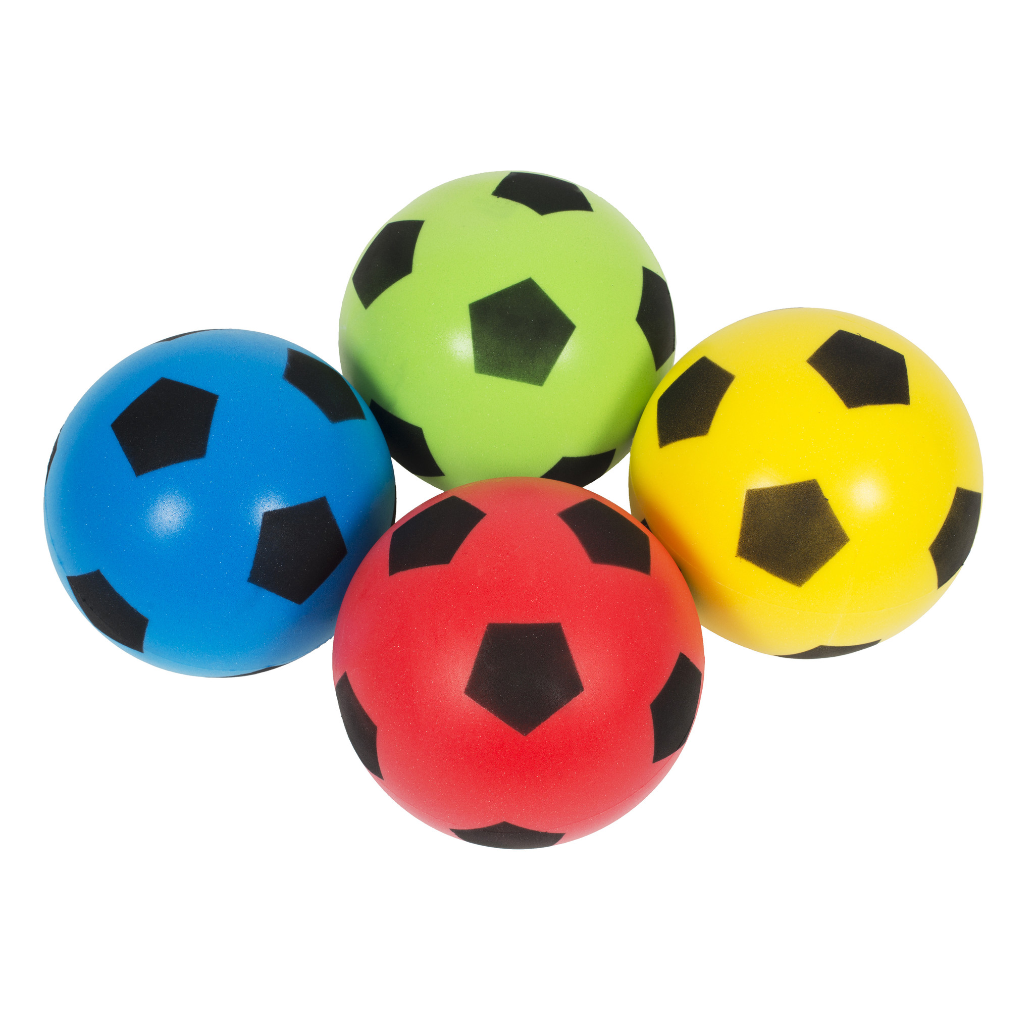 Foam Voetballen - Set van 4-1