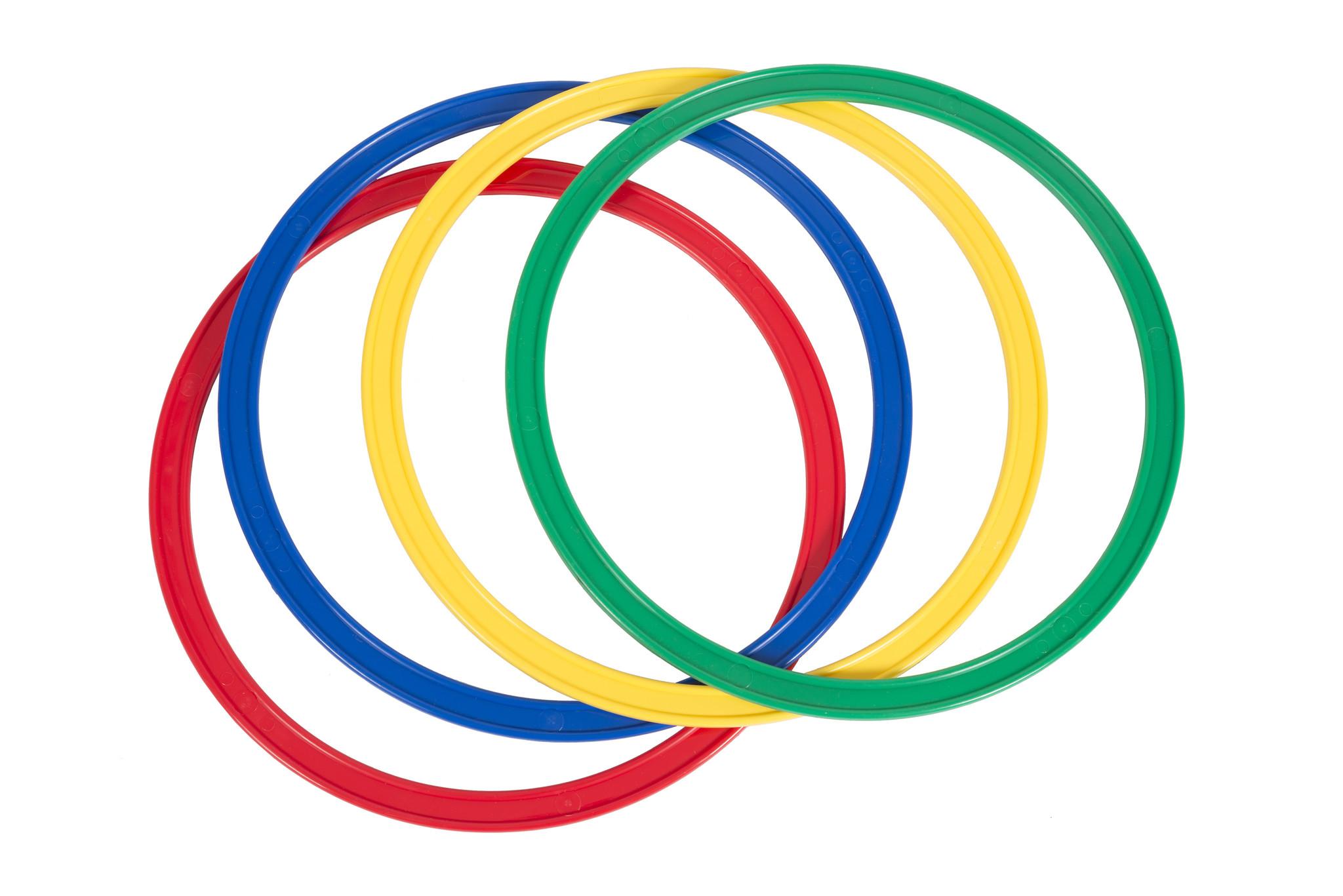 Set van 4 platte ringen-1