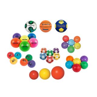 Ballen in alle soorten, kleuren en maten
