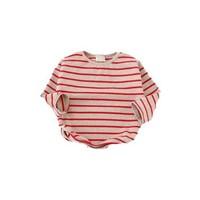 Sweatshirt -  rode strepen