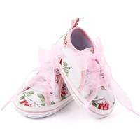 Veterschoen - roze rozen