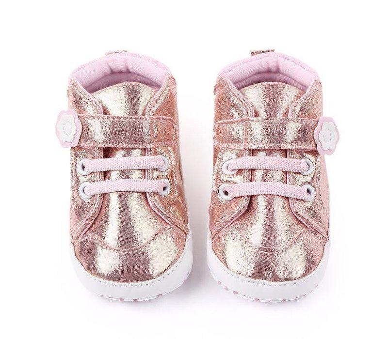 Schoenen -  roze - bling