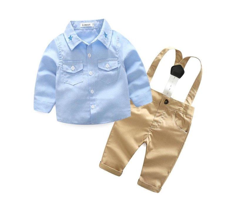 Set - hemd - broek - bretels