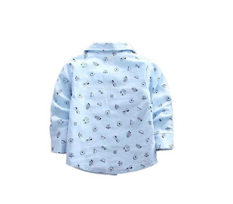 Hemd - blauw - Toy