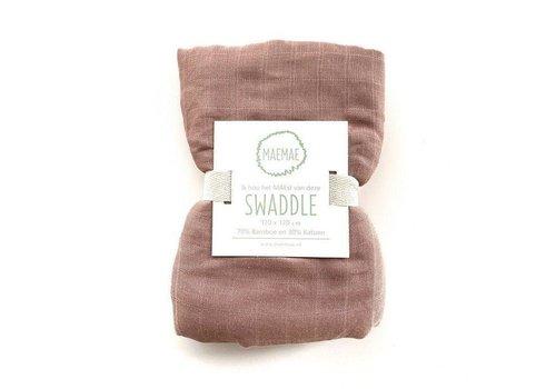 MaeMae Swaddle - misty rose