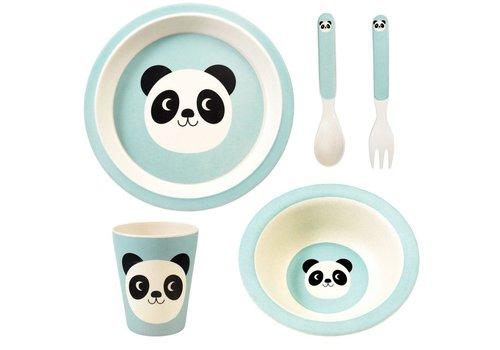 Rex London Tafelset -Miko the panda