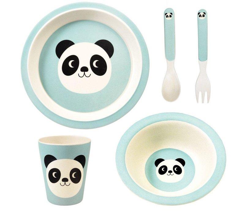 Tafelset -Miko the panda