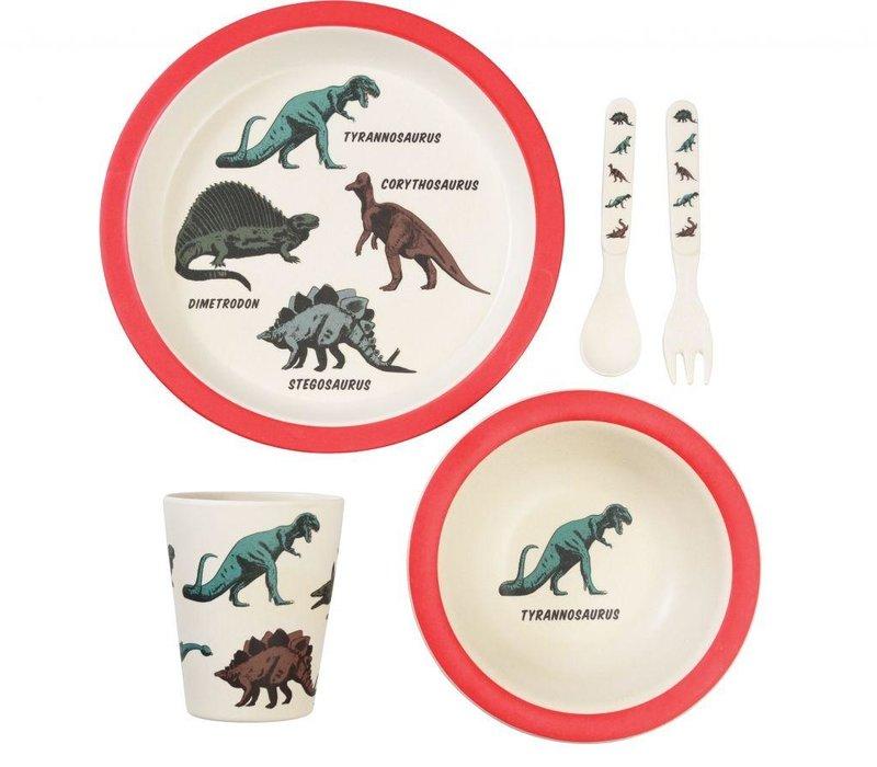 Tafelset - dinosauriërs