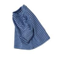 Set - bruine boomer - blauwe sweatshirt