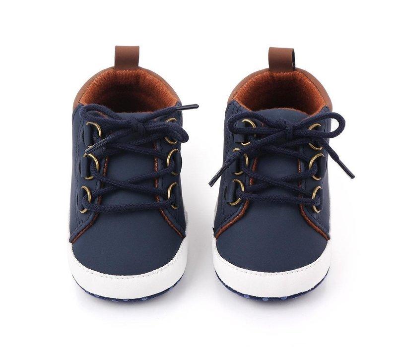 Boots - marine - bruin