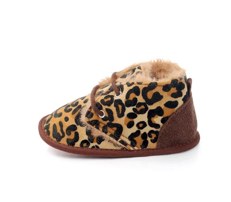 Boots - leopard - zacht