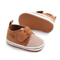 Schoenen - strepen - bruin