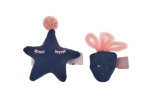 Clayre & Eef Haarspeld - aardbei-  ster