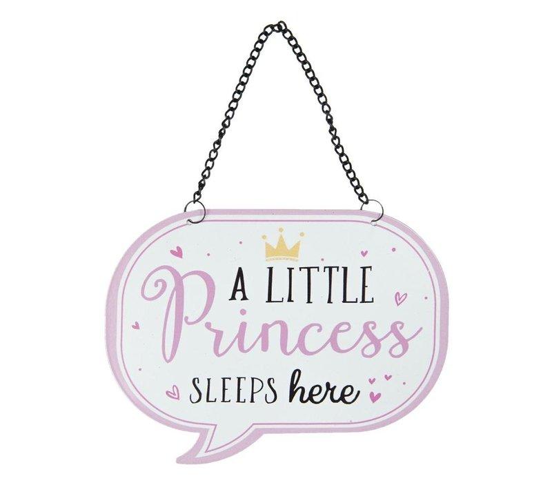 Tekstbord - a little princess