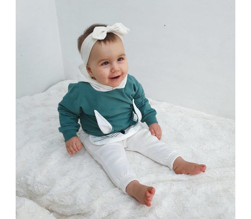 Sweatshirt - bunny - kap