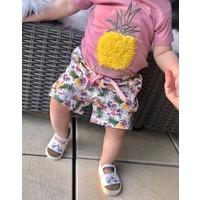 Set - ananas -  roze