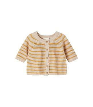 Lil Atelier Rimo LS Loose Knit Cardigan