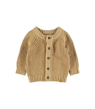 Lil Atelier Nemlen LS Knit Cardigan Lark