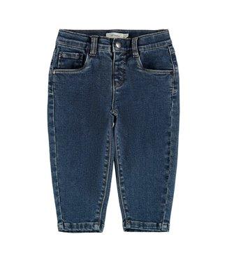 Lil Atelier Bibi DNMETEMS 2560 Shape Pant Medium Blue Denim