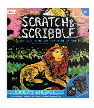 Janod Janod - Scratch & Scribble 'Colorful Safari'