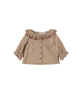 Lil Atelier Ester LS Shirt Almondine