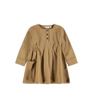Lil Atelier Elipa LS Loose Sweat Dress Ermine