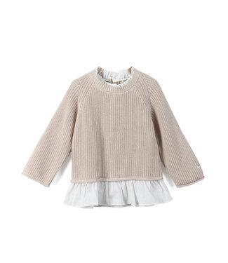 Donsje Amsterdam Flossy sweater soft sand