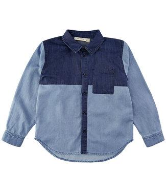 Soft Gallery Ivano Ivan Shirt Dark Denim