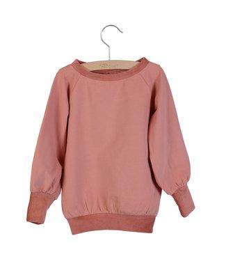 Little Hedonist Long Sweater Celie Old Rose