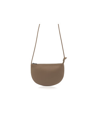 Monk & Anna Farou Half-moon bag Cacao