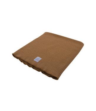 Nanami Baby blanket 2x2 rib knit Sand