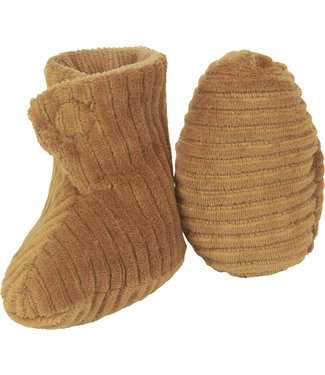 Nanami Newborn shoe rib velvet Sand