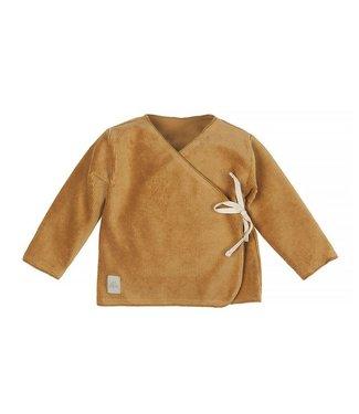 Nanami Nanami Baby rib velvet top Sand 62/68