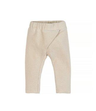 Nanami Nanami Baby rib velvet pants Naturel 50/56