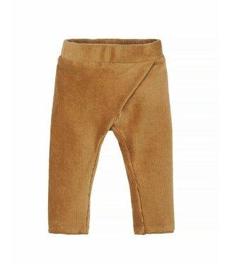 Nanami Nanami Baby rib velvet pants Sand 62/68