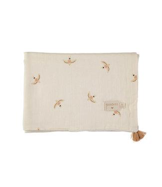 Nobodinoz Treasure Blanket Birds