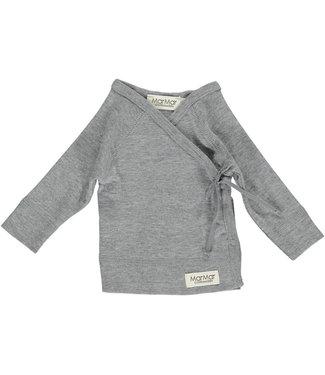 Marmar Copenhagen Tut wrap LS Grey Melange