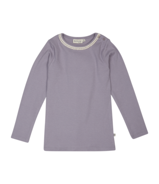 Blossom Kids Shirt long sleeve Lavender grey