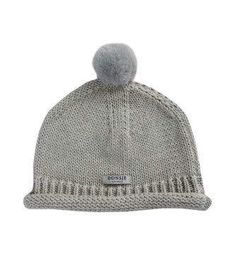 Donsje Amsterdam Mackle Hat Grey beige melange