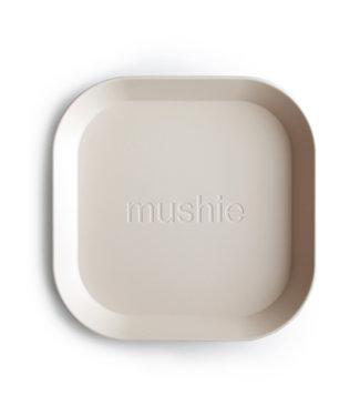 Mushie Mushie plate ivory