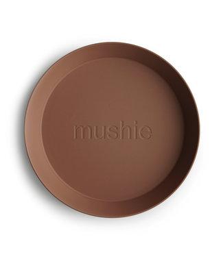 Mushie Mushie plate Caramel