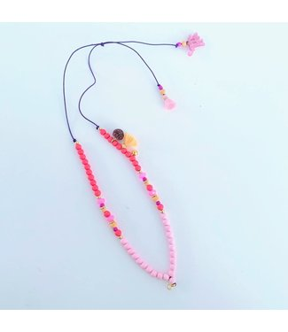 Feestbeest Ketting Pink Miracle