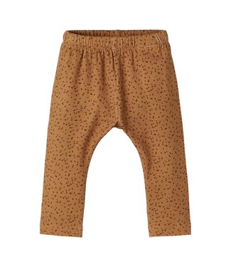 Lil Atelier Geo Loose Pant Tabacco Brown