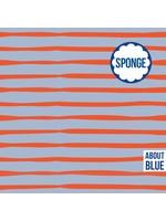 About Blue Fabrics Cashmere Lines - Sponge