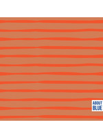 About Blue Fabrics Flame Lines French Terry