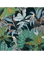 See You At Six Jungle - Katoen Canvas Gabardine Twill - Green Gables