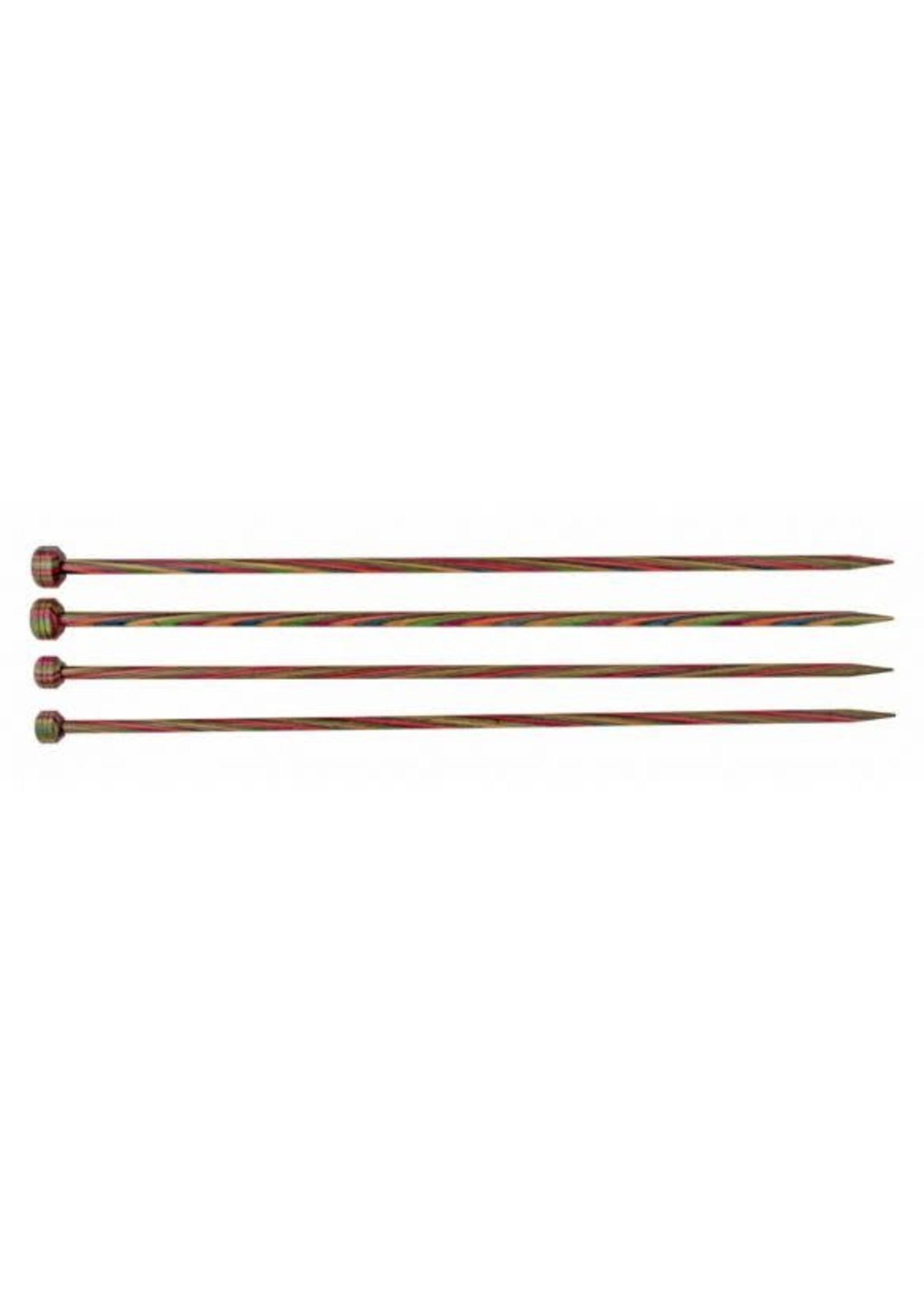 KnitPro Knitpro Symfonie Breinaalden 35cm met knop - 4.00mm