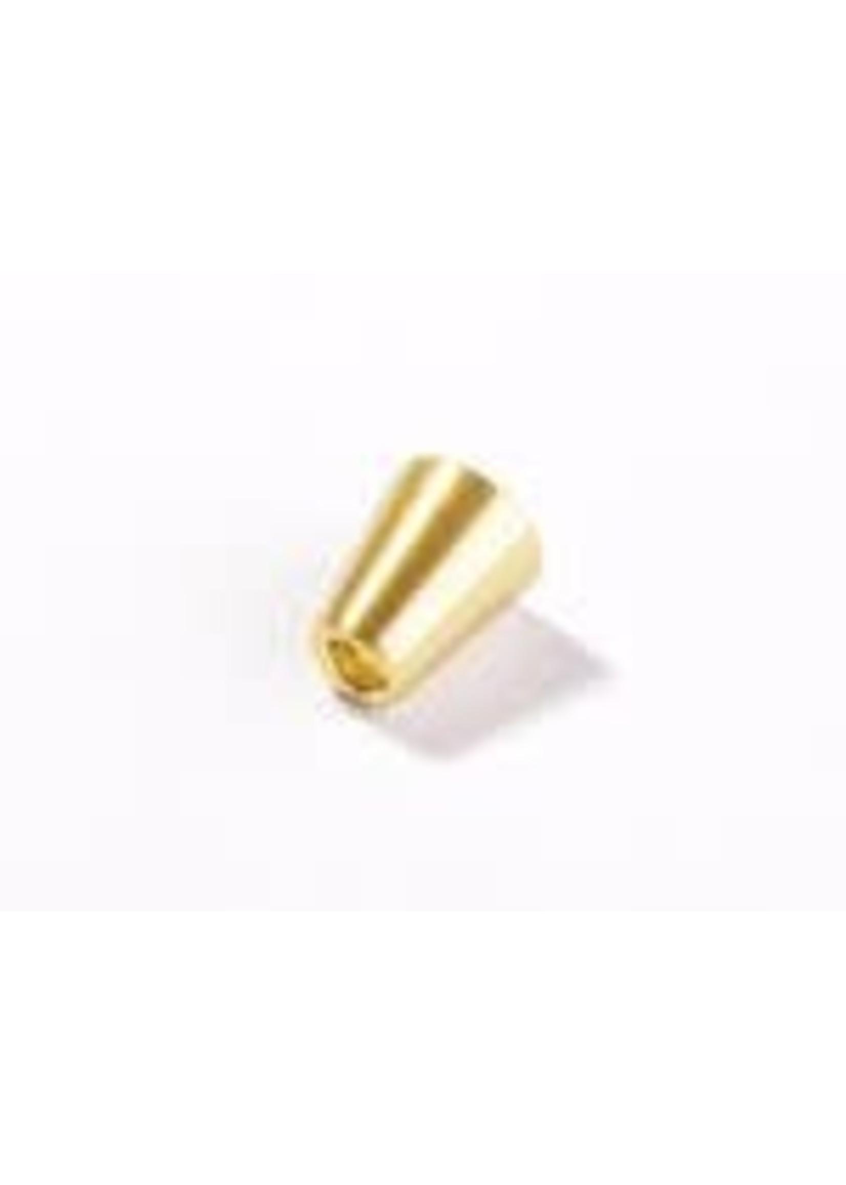 Schnaply Koordstopper Goud 4mm / 2 stuks