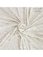 Fibre Mood Knit towel - green leafs