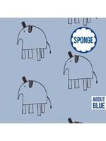 About Blue Fabrics Lewis Cashmere - Sponge